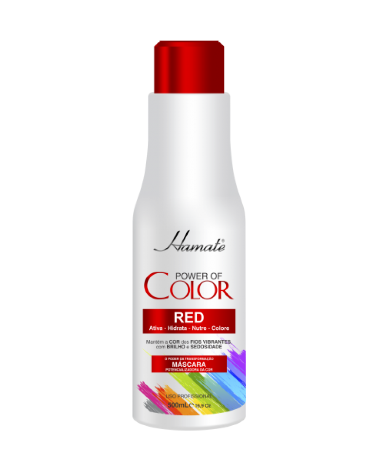 MASCARA COLOR RED 500G